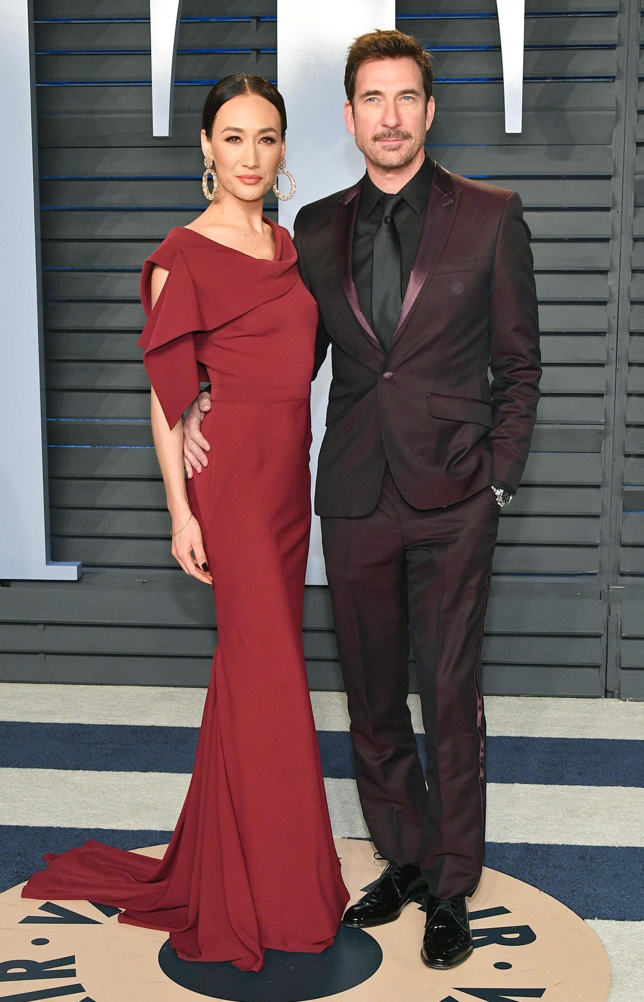 Dylan McDermott and his former partner