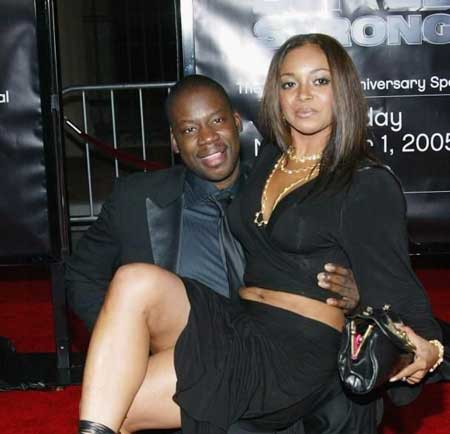 Actor Daryl Mitchell with his wife Carol