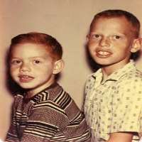 Richard Elfman with his brother, Danny Elfman.