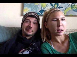 Moo with her wife Lauren.