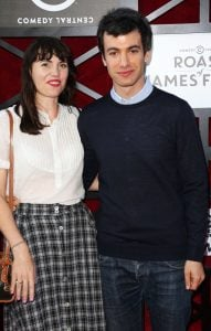 Nathan with his ex-wife Sarah Ziolkowska