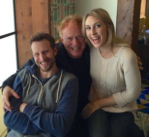 Richard with his son, Bodhi , and daughter, Andrey Elfman-Mendez.