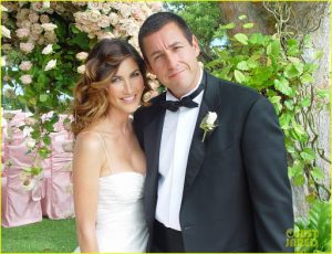 Adam And Jackie Sandler wedding picture.