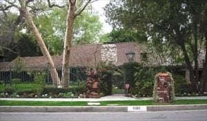 Brynn and Phil house in Encino, CA. Image