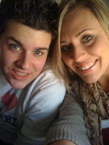 Jon with his ex-wife Kathy Risinger.