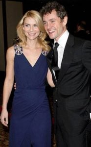 Claire Danes & Hugh Dancy attending a party