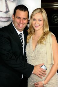 Randall with his ex-wife, Ambyr Childers.