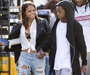 Christina's ex-boyfriend, Lil Wayne.