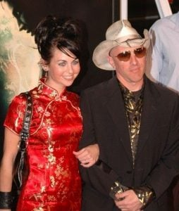 Maynard James Keenan with his wife, Lei Li