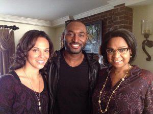 Tattiawna Jones with her family members.