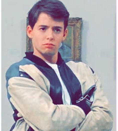 Matthew Broderick's early days picture