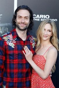 Christ and Kristin took a picture while attending an event