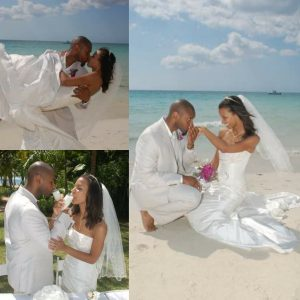 Constance Jones with her beloved husband, Troy Simmons.