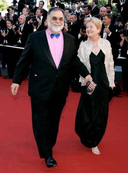 Francis Ford Coppola and his wife