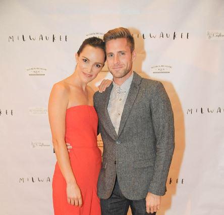 Jodi Balfour with her boyfriend attending World Premiere