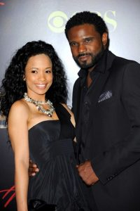 McCrary with his second ex-wife, Karrine Steffans