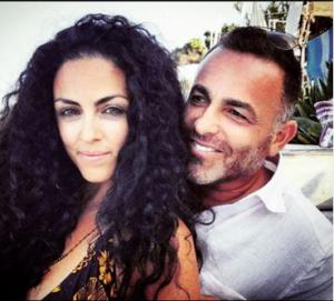 Kellie and her boyfriend took a selfie together