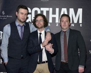 Kyle Mooney enjoying his single life with friends.