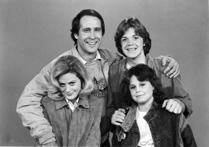 Lively with his co-actors from National Lampoon's European Vacation (1979)
