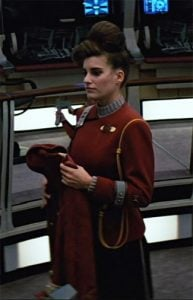 Melanie took a picture during her Star Trek shooting