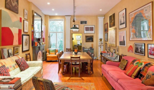 Inside view of Clarie Danes and Hugh Dancy's new house at West Village.
