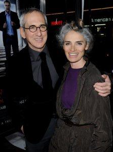 Carla Santos Shamberg with husband, Michael Shamberg.