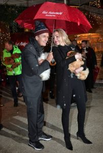 Rupert and Kathrin took a picture while attending Christmas in Henndorf am Wallersee, Austira