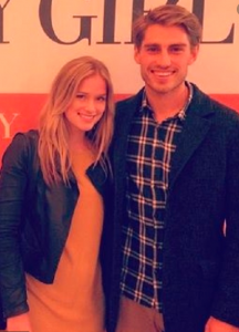 Lail with her ex-boyfriend, Julian Haig.