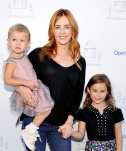 His ex-wife and two daughters, London and Rylee.