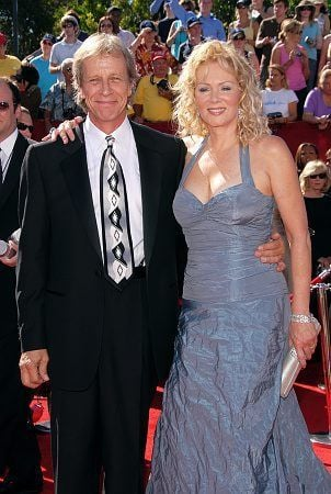 Richard Gilliland with his wife