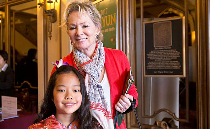 Jean Smart with her daughter