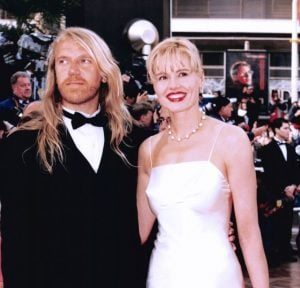 Geena with her third husband, Renny Harlin.