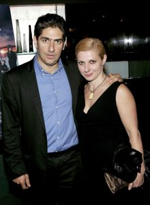 Victoria Imperioli with her husband, Michael Imperioli.