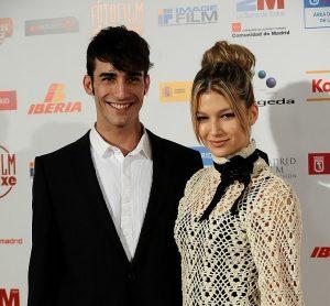 Ursula with her ex-boyfriend, Israel Rodriguez.