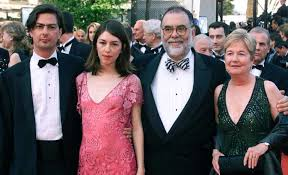 Francis Ford Coppola with his family members