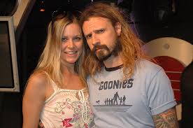 Sheri Moon Zombie with husband Rob