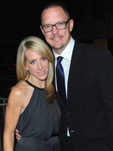 Heather Helm with her husband, Matthew Lillard.