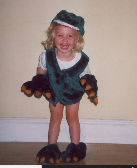 Sophie Simnett's childhood pictures