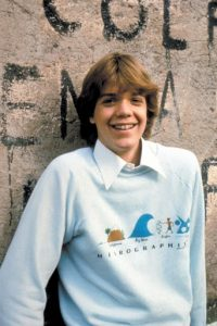 Jason Lively in his early teenage