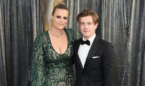 Marianna with her boyfriend, Xavier Samuel.