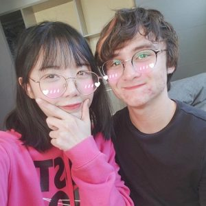 Michael with his girlfriend, LilyPichu
