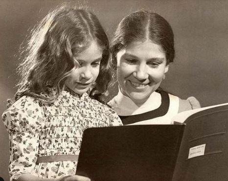 Sarah Jessica Parker in her childhood days