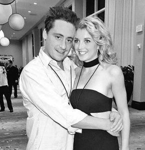 Emily with her ex-boyfriend, Ben Robinson.