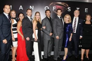 Cavill's family photo while attending an award ceremony with his brother, Henry.