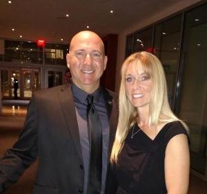 Ira Peskowitz with his current wife, Stephanie Peskowitz.
