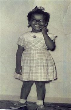 Gwen Ifill's childhood picture