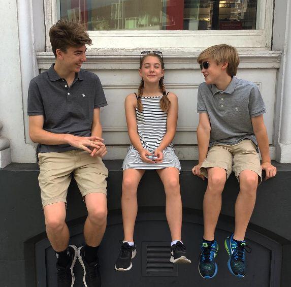 William's children