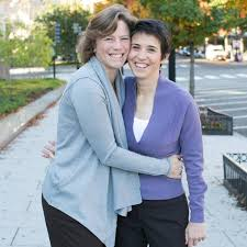 Amy Walter and her partner