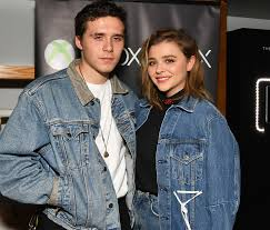 Brooklyn Beckham with his former partner