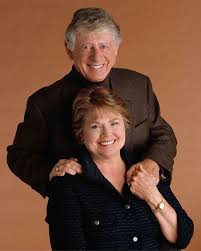 Ted Koppel with his beloved wife